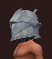 Mighty Footman's Helmet (Equipped)