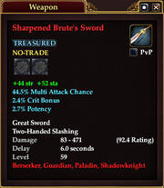Sharpened Brute's Sword (59)