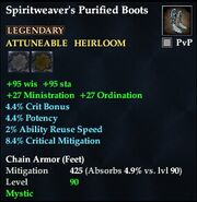 Spiritweaver's Purified Boots