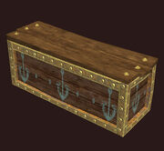 A Large Seafury Buccaneer Crate Placed