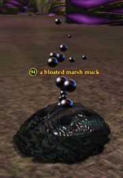 A bloated marsh muck