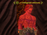 A conflagrant emissary