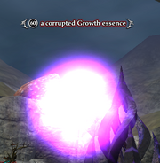 A corrupted Growth essence (heroic)