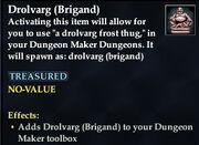 Drolvarg (Brigand)