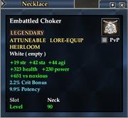 Embattled Choker