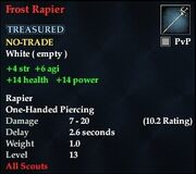 Frost Rapier