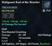 Malignant Rod of the Brawler