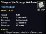 Visage of the Scourge Watchman