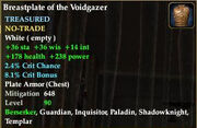 Breastplate of the Voidgazer