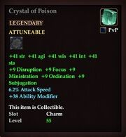 Crystal of Poison