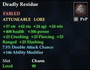 Deadly Residue