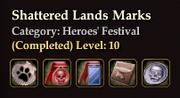 Shattered Lands Marks