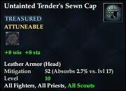 Untainted Tender's Sewn Cap