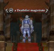 A Deathfist magistrate
