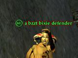 A bzzt bixie defender