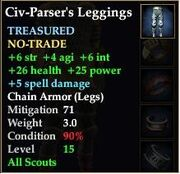 Civ-Parser's Leggings