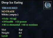Deep Ice Earing