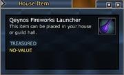 Qeynos Fireworks Launcher