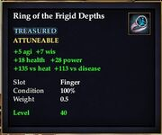 Ring of the Frigid Depths