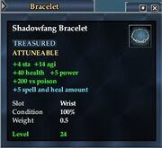 Shadowfang Bracelet