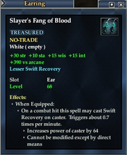Slayer's Fang of Blood