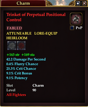 Trinket of Perpetual Positional Control