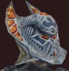 Vesspyr Warrior's Elaborate Iron Barbute (Equipped)
