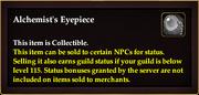 Alchemist's Eyepiece item