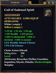 Coif of Sadened Spirit