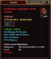 Darkblade's Spaulders of the Citadel