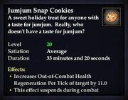 Jumjum Snap Cookies
