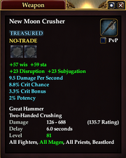 New Moon Crusher