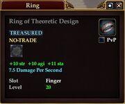 Ring of Theoretic Design