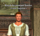 Royal Accountant Fowler