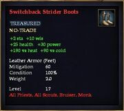 Switchback Strider Boots