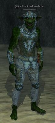 A Blackfurl swabbie (troll)
