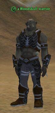 A Bloodskull warrior