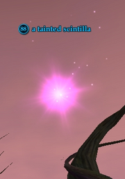 A tainted scintilla