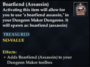 Boarfiend (Assassin)