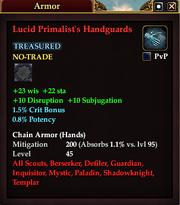 Lucid Primalist's Handguards