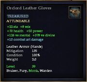 Orclord Leather Gloves