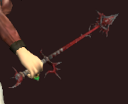 Warrider's Tusk Wand (Equipped)