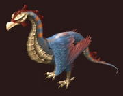 A Tamed Cockatrice (house item) (Visible)