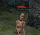 A disturbed corpse