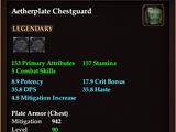 Aetherplate Chestguard