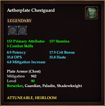 Aetherplate Chestguard | EverQuest 2 Wiki | FANDOM powered