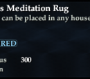 Arbiter's Meditation Rug