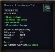 Bracers of the Arcane Fist