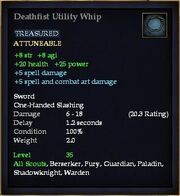 Deathfist Utility Whip