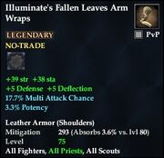 Illuminate's Fallen Leaves Arm Wraps